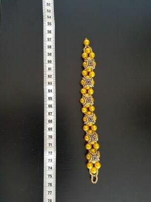 braccialetto di perline