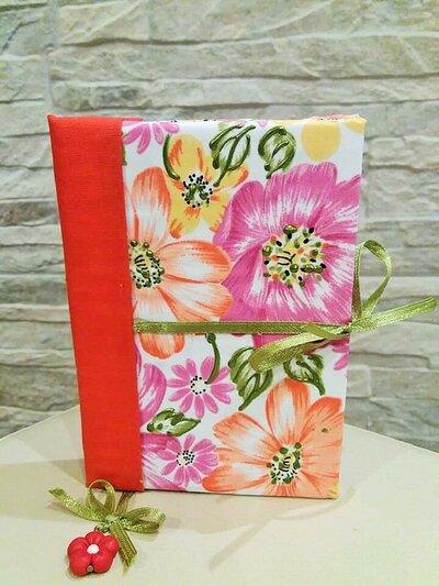 Agenda fiori in arancio