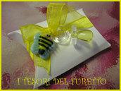 Bomboniera Nascita  Portaconfetti Fimo Personalizzabile