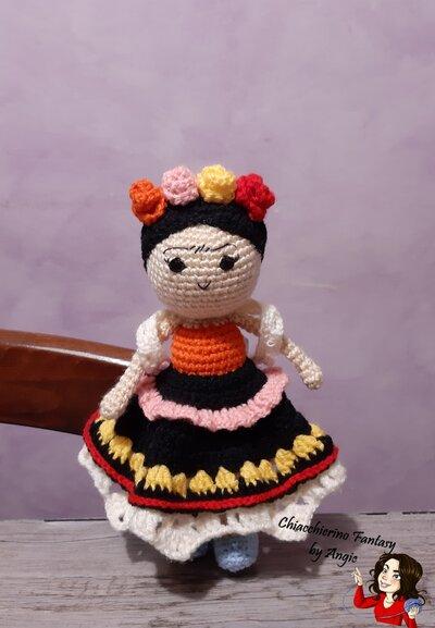 Frida Kahlo - Collection Amigurumi