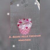 Portafoto in fimo bomboniera segnaposti idea regalo fatto a mano
