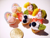 Mini cup cake parts