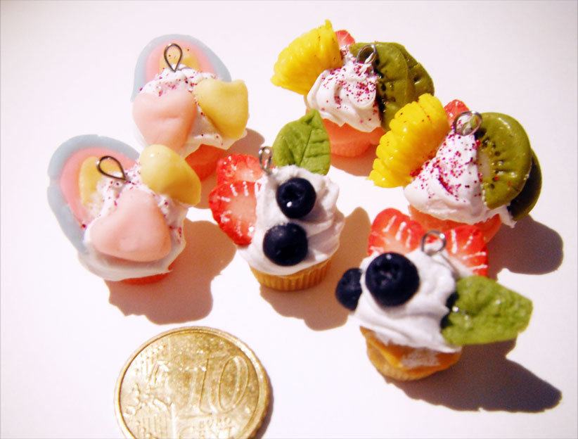 Mini cup cake parts