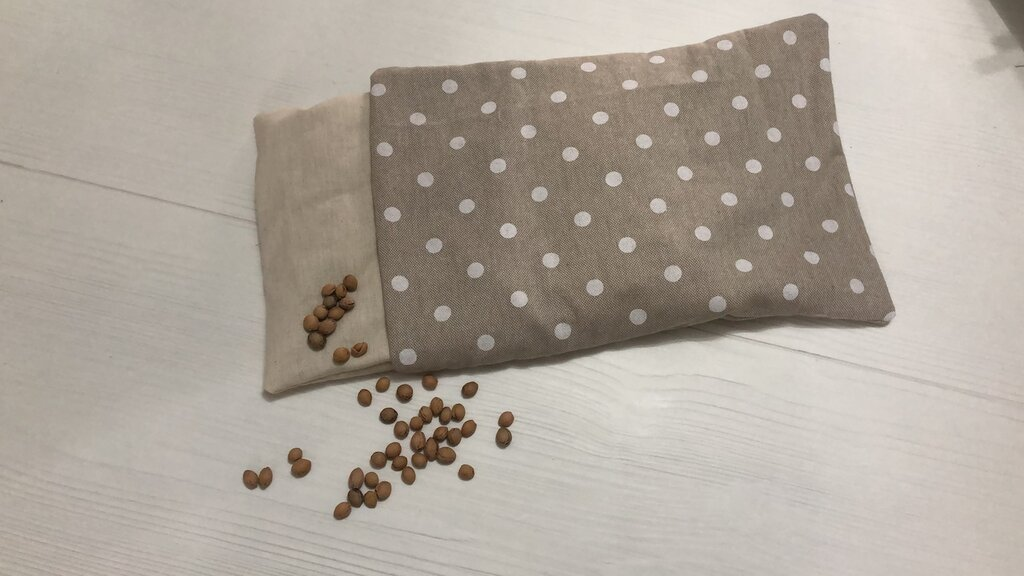 Cuscino termico nòccioli di ciliegio