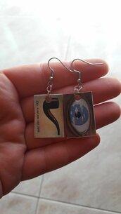 Orecchini con Magritte