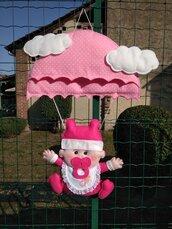 Fiocco nascita...una bambina col paracadute