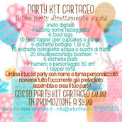 PARTY KIT CARTACEO #RESTIAMOACASA