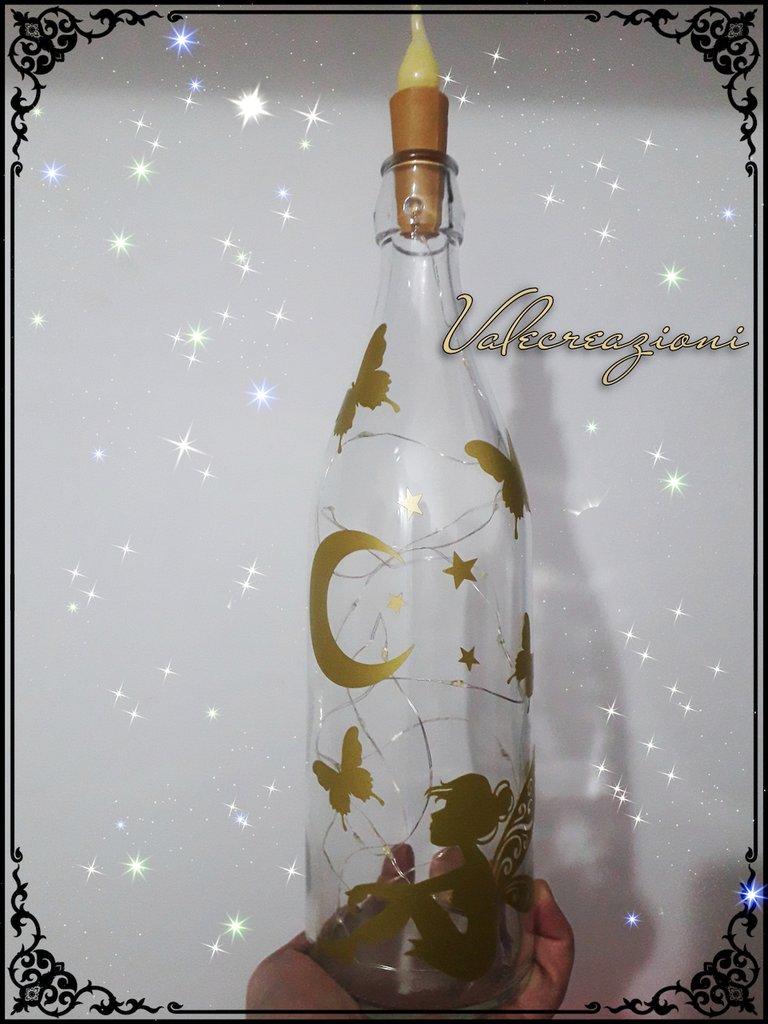 Lampada bottiglia personalizzata