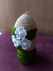 Uovo di Pasqua uncinetto