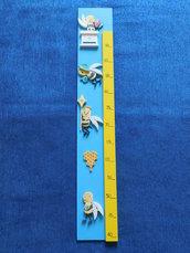 Metro misura altezza per bambini in legno mod.api