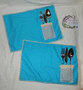 tovagliette americane con tasca