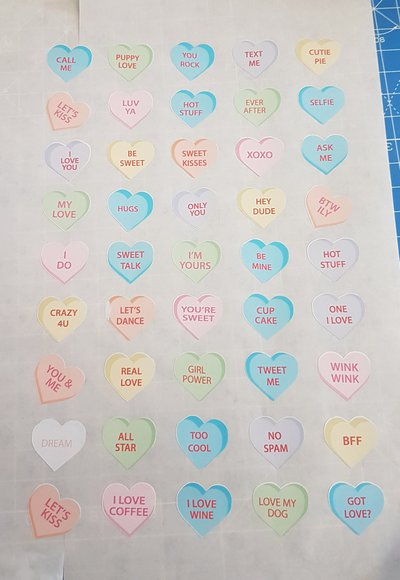 "Stickers a tema ""Love"""