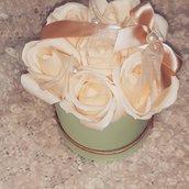 Confezioni di rose di sapone profumate