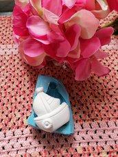 Stampo Barca barchetta barca a vela in gomma siliconica professionale da colata