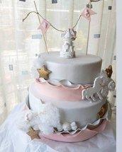 torta scenografica nascita battesimo compleanno