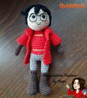PATTERN/SCHEMA Harry Potter Quidditch Amigurumi