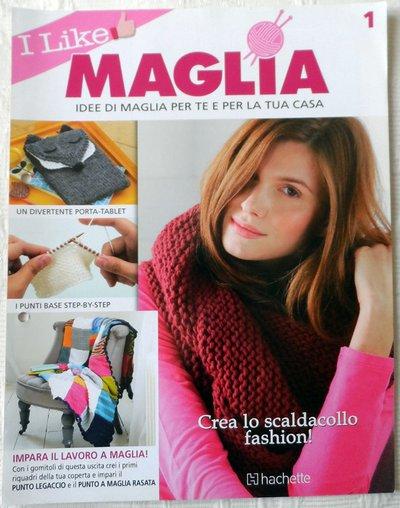 FASCICOLO *I LIKE MAGLIA*