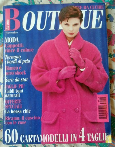 RIVISTA *LA MIA BOUTIQUE* 11/95