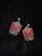 orecchini tradizionali online, ricami a mano