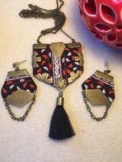 gioielli fatti a mano online, tessuto per ricamo tradizionale collana online