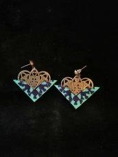 gioielleria artigianale, orecchini tradizionali online, ricami a mano