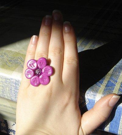 anello fucsia