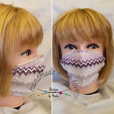 Mascherina viso con tasca filtro lavabile adulto
