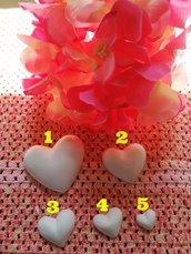 Multistampo stampo cuore cuori in gomma siliconica professionale da colata