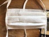 Kit mascherina in tnt (tessuto non tessuto grammi 70)