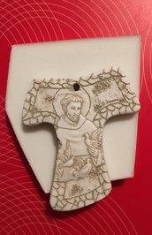 Stampo silicone Tau San Francesco cm. 9