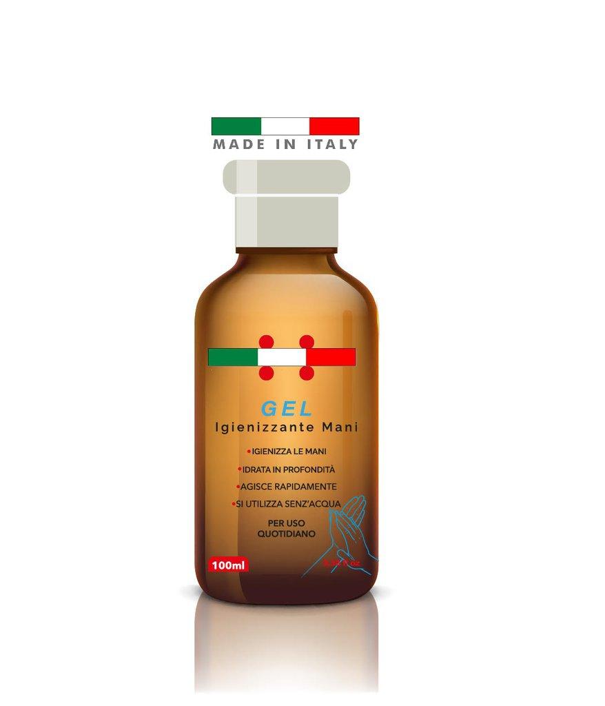 GEL Mani igienizza e Disinfetta MADE IN ITALY 100 ML