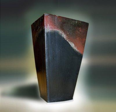 Grande vaso raku