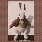 Sir William il coniglio amigurumi