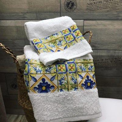Asciugamani 1+1 (Caltagirone)