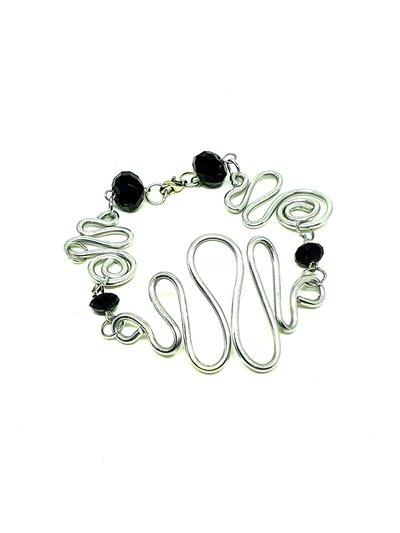Bracciale  spirali wire