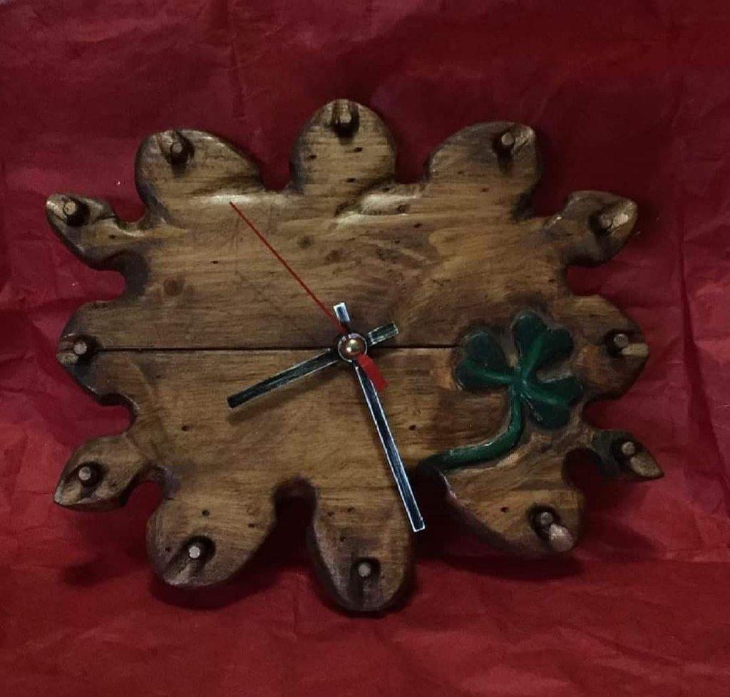 Orologio col  trifoglio