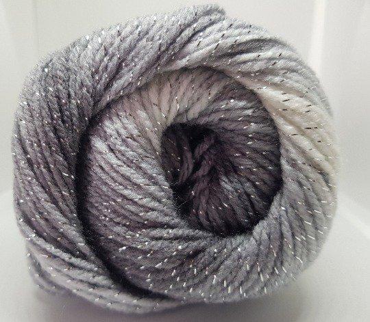 Ice Yarns Magic Glitz - acrilico e lurex - White Silver Grey Black fnt2-22049