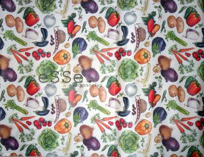 Carta per decoupage_ Frutta e verdura_