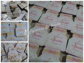 Nutella mini nutelline segnaposto personalizzabile compleanno nascita battesimo comunione 18esimo