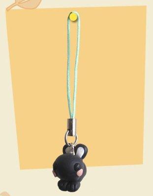 Phone strap coniglio rabbit in cernit