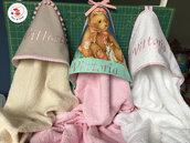 Accappatoio a triangolo neonato