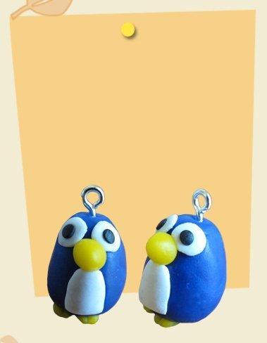 Ciondolo charm pinguino penguin