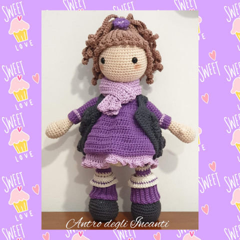Bambola amigurumi Mia