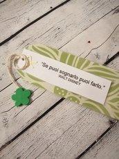 Segnalibro fatto a mano Frasi personalizzate IDEA REGALO Compleanno Segnalibri Immagini