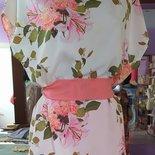 casacca donna fatta a mano, bluse e camicette, top floreale