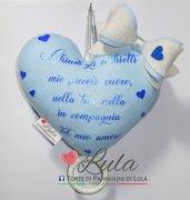 Carillon Cuore NOME DEDICA PERSONALIZZABILE idea regalo nascita battesimo baby shower
