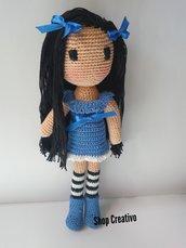 Bambola uncinetto amigurumi