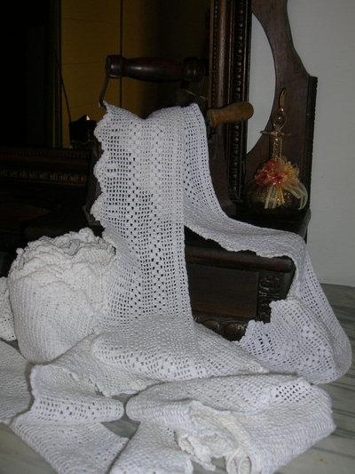 trina della nonna - con due righe - h.cm.10, lungh.8 metri