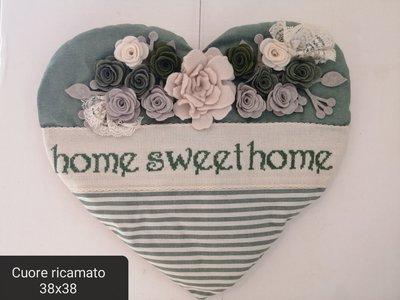 Fuoriporta cuore home sweet home