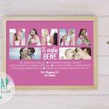 Regalo festa della Mamma - Idea regalo per la Mamma - Quadro personalizzato per la Mamma - Quadretto Mamma con fotografie